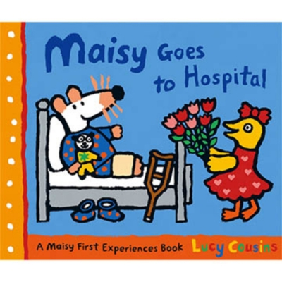 Maisy Goes To Hospital 波波住院了!故事小書