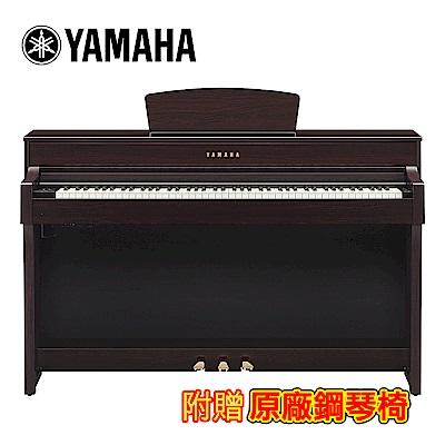 [無卡分期-12期] YAMAHA CLP-635 R 88鍵標準數位電鋼琴 深玫瑰木款