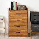 《HOPMA》DIY巧收和風四抽斗櫃-寬62 x深45.5 x高90.5cm