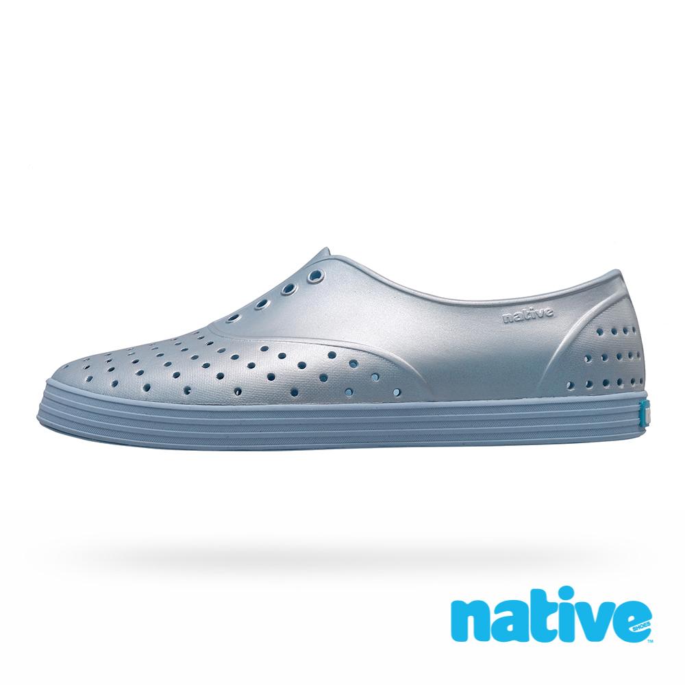 native JERICHO METALLIC 女鞋-未來藍