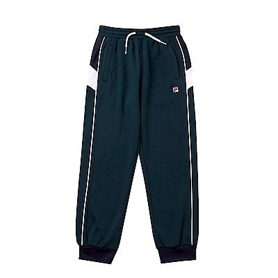 FILA KIDS 針織長褲-綠 1PNS-8401-GN