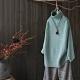 螺紋高領針織衫秋冬裝寬鬆線衫-設計所在 product thumbnail 1