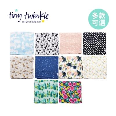 Tiny Twinkle 美國紗布巾/包巾120×120cm - 多款可選