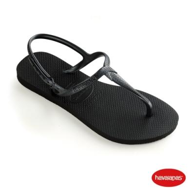 Havaianas 哈瓦仕 拖鞋 涼鞋  巴西 女鞋 黑 4144756-0090W Twist