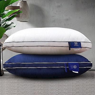 Hilton 希爾頓 五星級純棉立體銀離子抑菌獨立筒枕