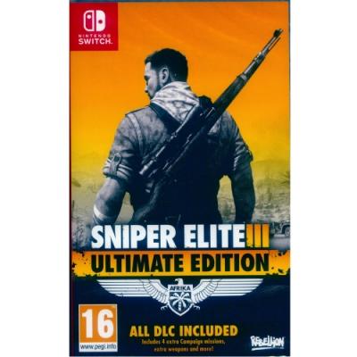 狙擊之神 3 終極版 Sniper Elite 3 - NS Switch 英文歐版