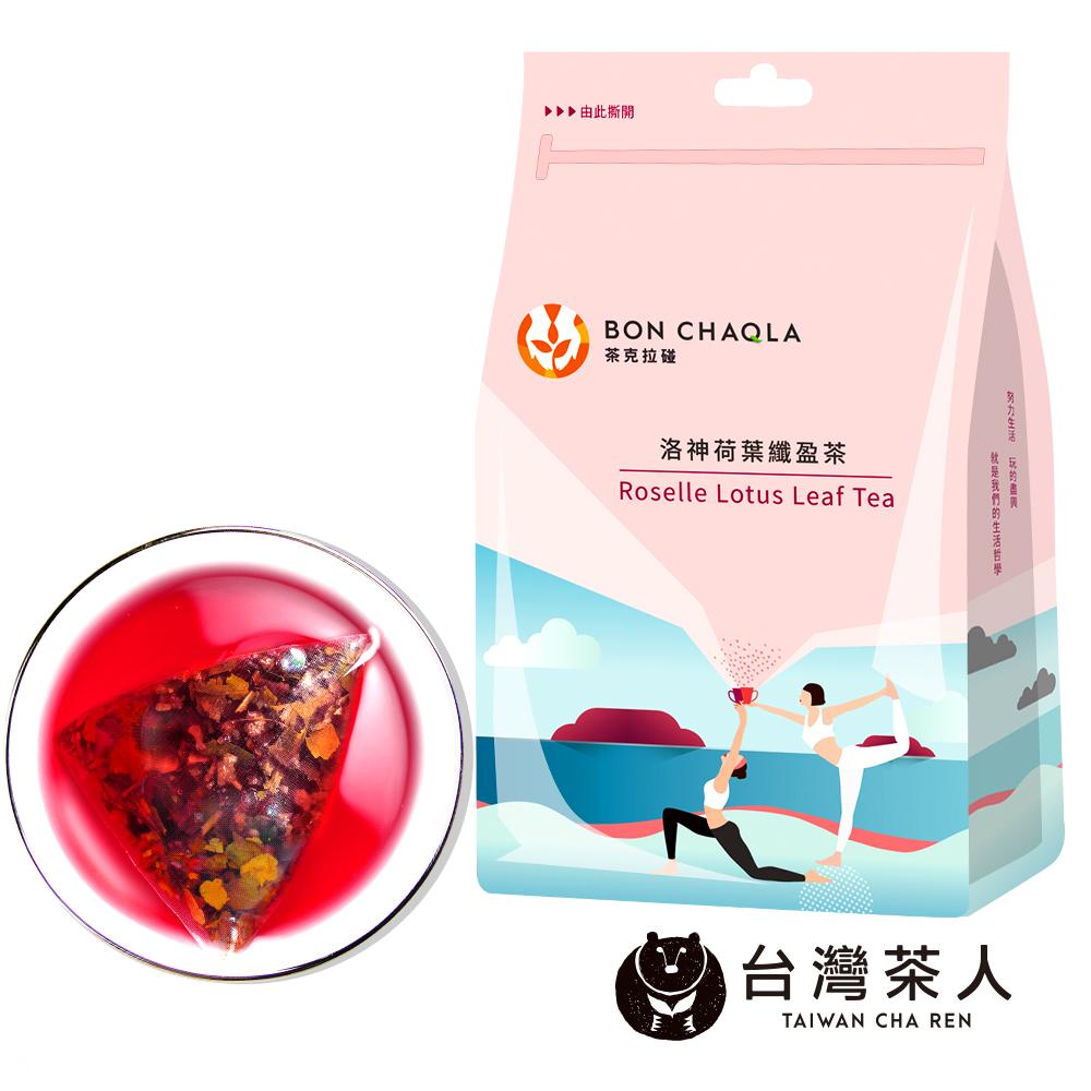 台灣茶人 洛神荷葉纖盈茶三角茶包(18入/袋)*10組 @ Y!購物