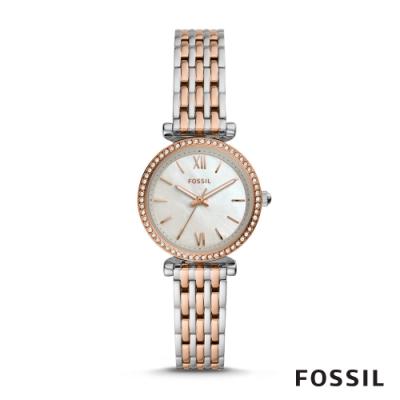 FOSSIL CARLIE 高雅璀璨輕奢華女錶 28MM ES4649