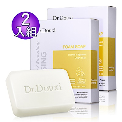 Dr.Douxi 朵璽 卵殼精萃乳霜皂100g  <b>2</b>入組
