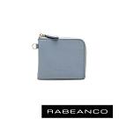 RABEANCO 時尚名品系列拉鍊小零錢包 水藍
