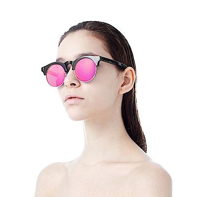 BVH 文藝小圓鏡片太陽眼鏡