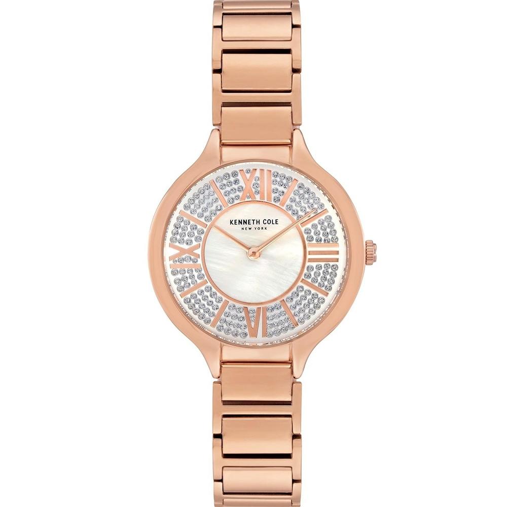 KENNETH COLE KC51011002 羅馬數字 滿天星 珍珠母貝 女錶