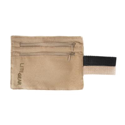 Lite Gear - RFID 隱藏式口袋 - 咖啡