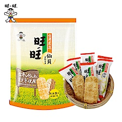 旺旺 仙貝台灣嚴選糙米-輕海鹽佐胡椒味(84g)