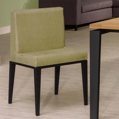 H&D 馬丁黑腳亞紋皮餐椅