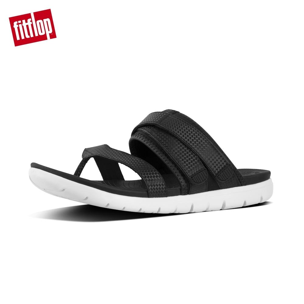 FitFlop NEOFLEX TOE-THONG SANDAL-黑色