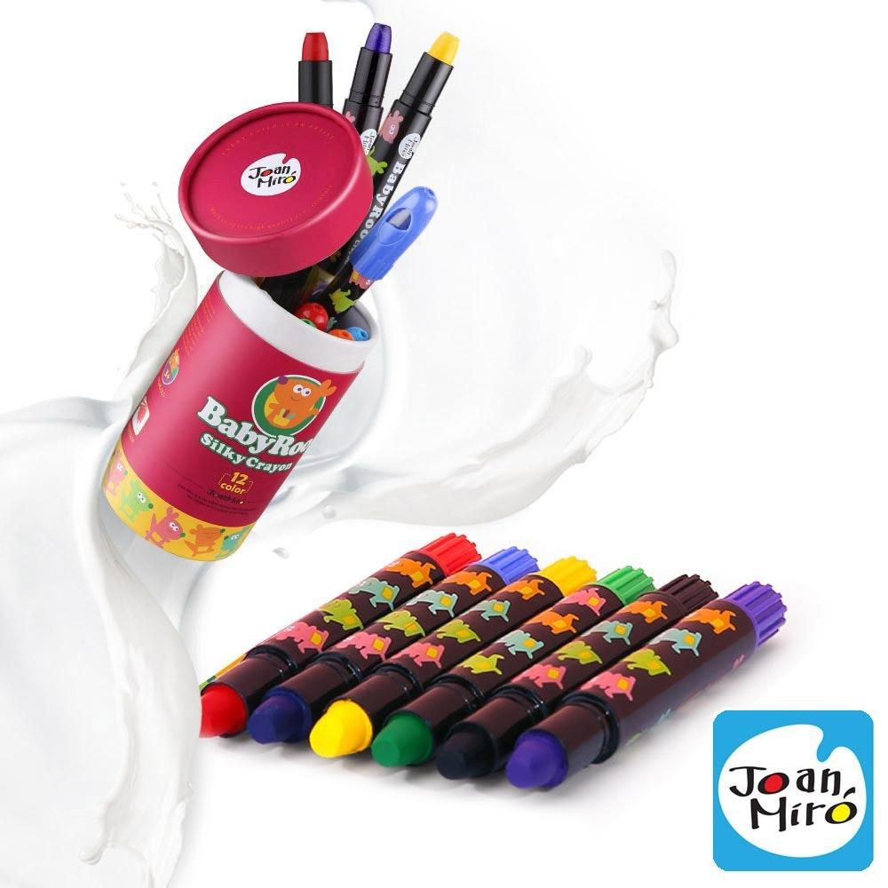 【西班牙 JoanMiro 原創美玩 】兒童絲滑蠟筆(6色) JM08084