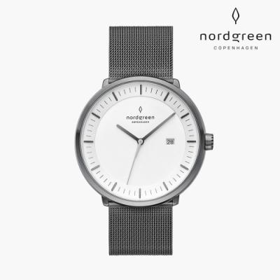 Nordgreen Philosopher 哲學家 深空灰系列 深空灰 鈦鋼米蘭錶帶手錶 40mm