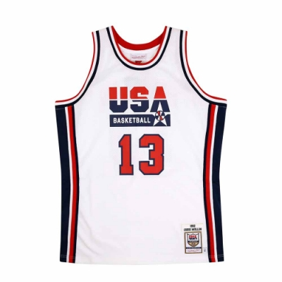 M&N Authentic球員版復古球衣 92 Dream Team #13 Chris Mullin