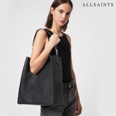 ALLSAINTS CAPTAIN 柔軟牛皮手提側背包