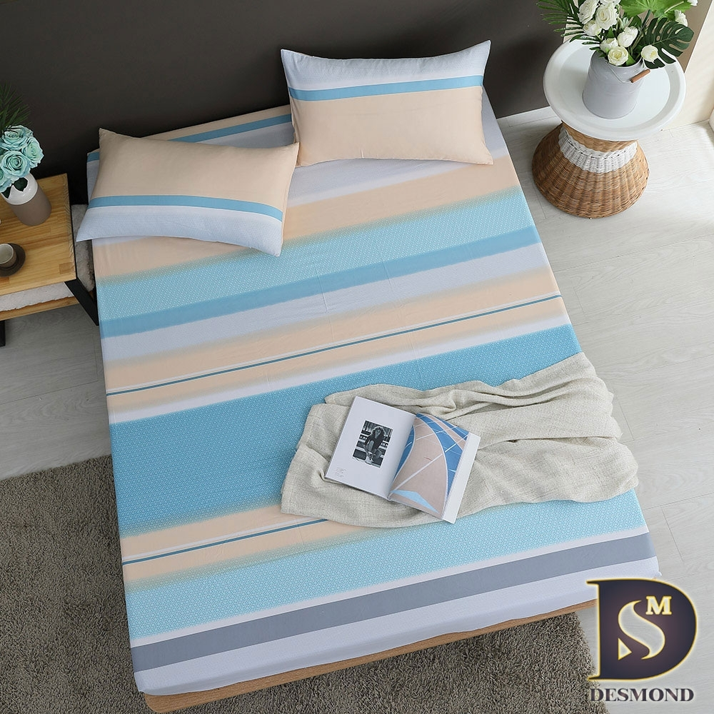 岱思夢 3M天絲床包枕套組 單/雙/大 尺寸均一價 (海芋戀)
