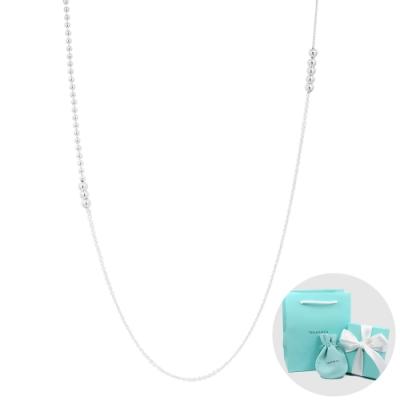 Tiffany&Co. 魅力混合珠鍊純銀項鍊