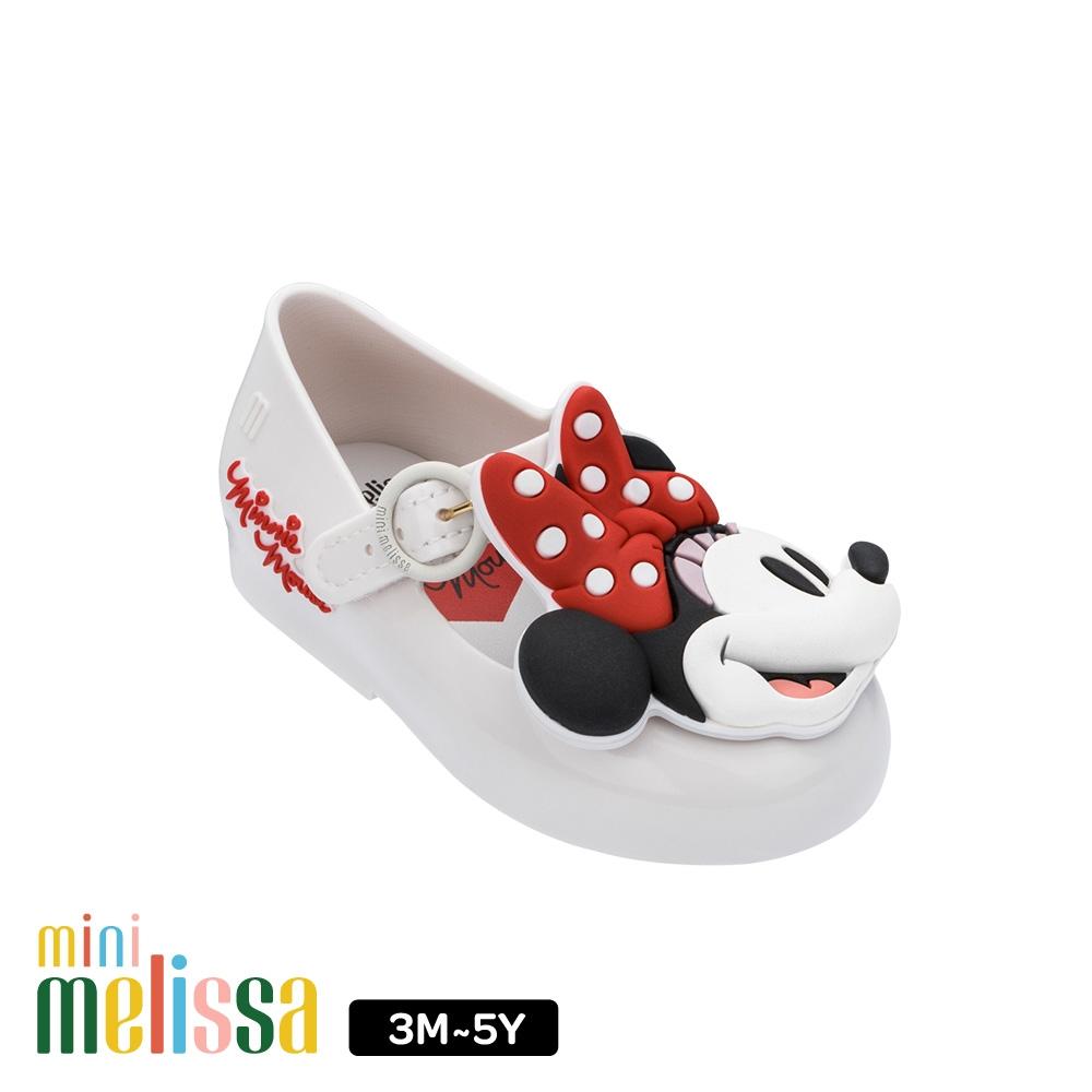 Melissa 迪士尼 Minnie Face娃娃鞋 寶寶款 白