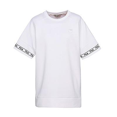FILA #東京企劃-原宿篇 短袖圓領T恤-白 5TES-5438-WT