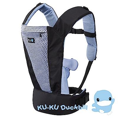 KU.KU酷咕鴨-超透氣多功能揹帶(2524)-藍