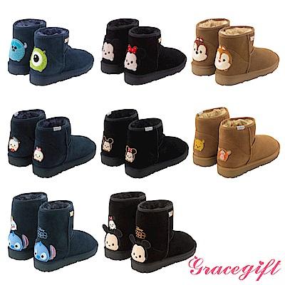 【時時樂限定】Grace gift迪士尼雪靴均一價$990