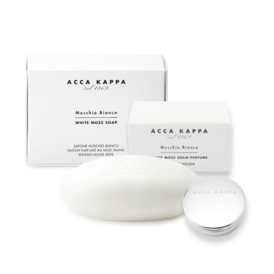ACCA KAPPA 白麝香香皂150g+香膏10ml Solid Perfume