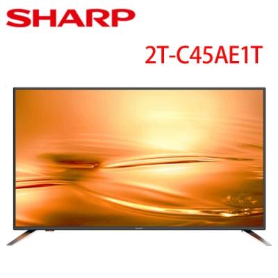 SHARP夏普 40吋 智慧連網顯示器 2T-C45AE1T