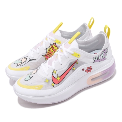 Nike 休閒鞋 Air Max Dia SE 運動 女鞋 氣墊 避震 舒適 簡約 球鞋 穿搭 印花 白 黃 CW2632181