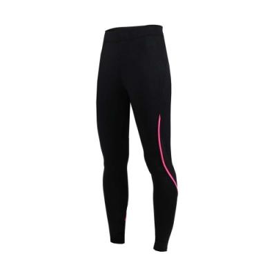 SOFO 女九分韻律褲-長褲 束褲 緊身褲 有氧 瑜珈 健身 訓練 黑桃紅