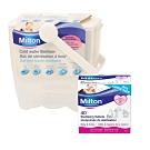 Milton米爾頓 - 奶瓶奶嘴消毒器 + 專用消毒錠(大錠)40入