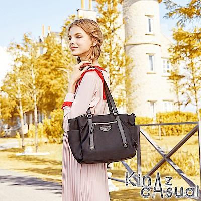 KINAZ casual 風尚潮流兩用斜背托特包-墨鏡系列-快