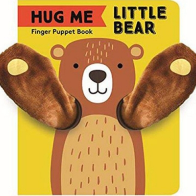 Finger Puppet Book:Little Bear 抱抱小熊指偶書