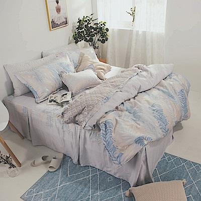 絲薇諾 MIT40支天絲 仲夏嵐歌 加大五件式-床罩組