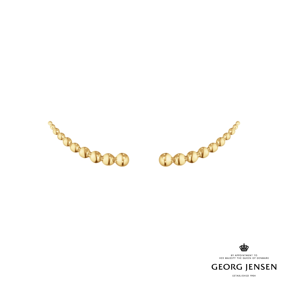 Georg Jensen 喬治傑生 MOONLIGHT GRAPES 18K金耳環