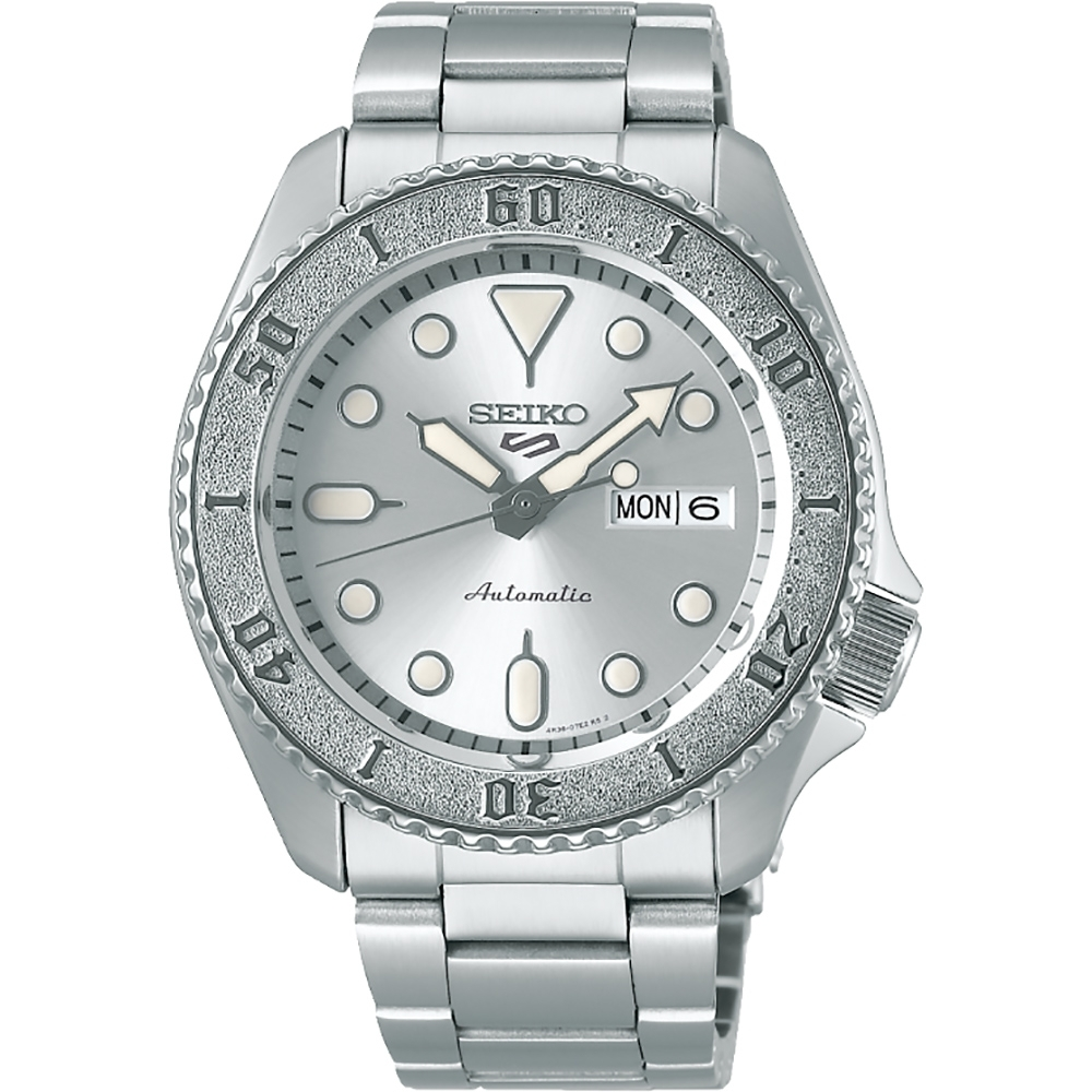 SEIKO 精工 5 Sports 銀河特別版機械錶(SRPE71K1)-42.5mm 4R36-08E0S