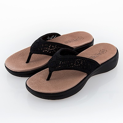 SKECHERS 女 健走 涼拖鞋ON THE GO LUXE - 16279BBK