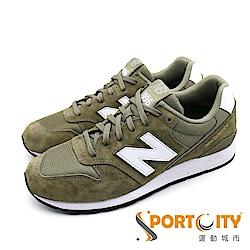 New Balance 996 復古鞋中休閒鞋 棕綠