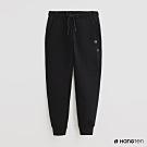 Hang Ten -女裝-ThermoContro-時尚配色運動機能休閒長褲-黑
