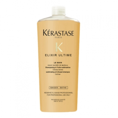 KERASTASE 卡詩 洗髮系列-金緻 1000ml(金緻柔馭潔髮浴)-快