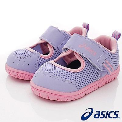 asics競速童鞋 輕量透氣休閒款118-500紫(小童段)