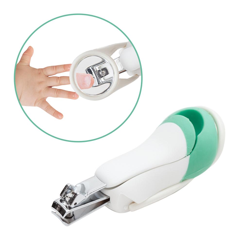 JoyNa嬰幼兒放大鏡指甲刀 新生兒指甲剪安全指甲鉗-2入