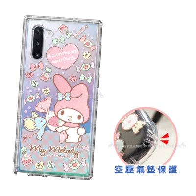 三麗鷗授權 三星 Samsung Galaxy Note10 愛心空壓手機殼(草莓)
