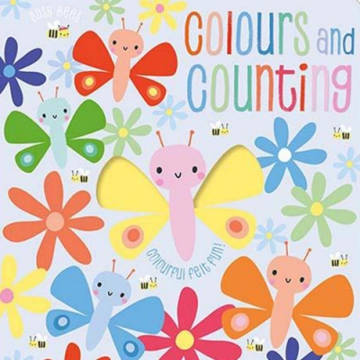 Busy Bees:Colours And Counting 顏色與數字觸摸學習書