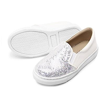 BuyGlasses 星辰煥彩童便鞋-白