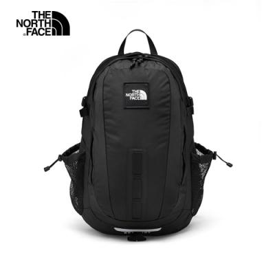 The North Face北面男女款黑色舒適防護休閒後背包|3KYJKX7